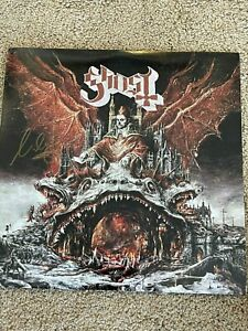 Ghost Band Prequelle Vinyl Record SIGNED Autographed Cardinal Copia