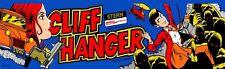 "Cliff Hanger Arcade Marquee 26"" x 8"""