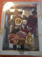 Hannah Montana Holiday Pop Star 2008 Gold Edition MIB Miley Cyrus Barbie Doll