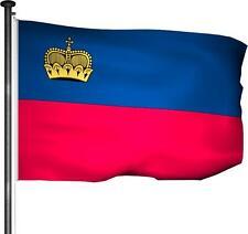 Fahne Liechtenstein - Flagge 100x150cm Premium Qualität