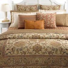 Ralph Lauren Northern Cape Natural Beige Tan11P Queen Duvet Cover Bed in Bag New