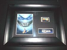 FINDING NEMO Framed Movie Film Cell Memorabilia Compliments poster dvd