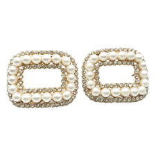 DIY perla zapato clips zapato clip hebilla zapato joyas decoración para zapato de novia