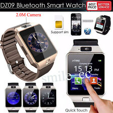 Bluetooth DZ09 Smart Watch phone GSM SIM Card For Android iPhone Samsung HTC HOT