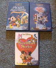 WALT DISNEY MICKEY MOUSE DVD BUNDLE X 3 DVDS