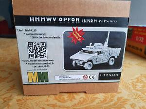 Kit complet à monter HMMWV OPFOR (BRDM version) 1/72 Model Miniature