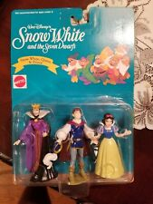 Disney's Snow White, Queen, and Prince Figurines Still In Box
