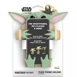 Baby Yoda The Child Mandalorian Flexi Phone Holder & Stand NEW SHIPS SAME DAY!