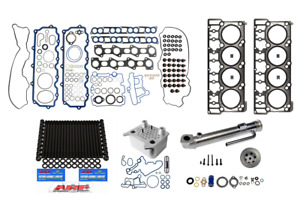 2003 6.0L Ford Powerstroke Complete Resolution Kit with Round EGR Cooler (3043)