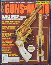 "Magazine GUNS & AMMO March 1976 ! PARKER-HALE 1853 ""Three Band"" ENFIELD MUSKET !"