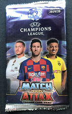2 Packs of 2019-20 Topps Match Attax UEFA Champions League