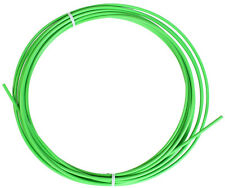 Bicycle Bike Brake Cable housing teflon lined by the foot Green with ferrules
