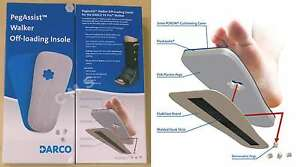 DARCO PegAssist PW Walker Off-Loading Insole System For All Walkers Peg Assist