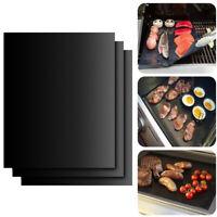 4 pezzi Tappetini per Barbecue BBQ - Stuoie da Cucina su Griglia o Forno Grill