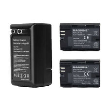 For Canon EOS 5D Mark II 60D Digital LP-E6 Battery 1800mah Two pack +US Charger