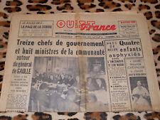 OUEST-FRANCE - Edition Manche-Sud - N° 4472 - Mercredi 4 Février 1959