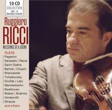 MILESTONES OF A LEGEND - RUGGIERO RICCI  10 CD NEUF