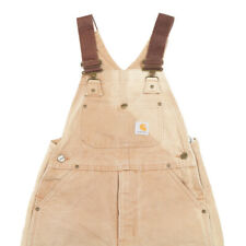CARHARTT Quilt Lined Overalls | Boy's M | Dungarees Bib Chore Workwear