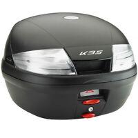 Kappa K35NT Monolock Motorcycle Motorbike Top Box Case 35 Litre Clear Reflectors