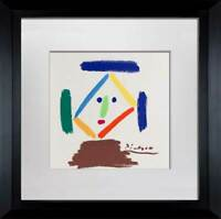 "Pablo PICASSO Lithograph Limited Ed. SIGNED ""La Monja"" w/FRAME"