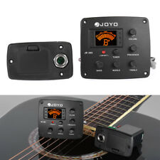 JOYO JE-305 Acoustic Guitar Piezo Pickup Preamp 4-Band EQ Equalizer Tuner J3Z1