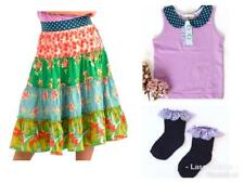 Matilda Jane MAIN STREET Skirt 2 + PLEASANTVILLE Tank + WASHY SOCKS SET NWT