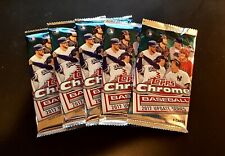 2017 Topps Chrome Update Factory Sealed 5-PACK LOT Acuna Bellinger Judge RC's?🔥