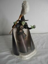 """Wizard Of Oz Collection Lenox Wicked Witch Of  West Porcelain Figurine 10"""" COA"""