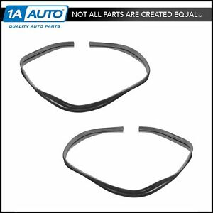 Front Upper Window Glass Run Channel Seal Pair for 64-66 C K Pickup Truck
