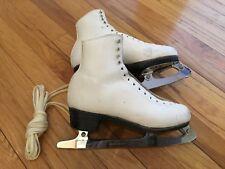 "Sp-Teri Super Deluxe Skates size 6-1/2 C 550 with Wilson Patt. 88 Blade 9.5"""