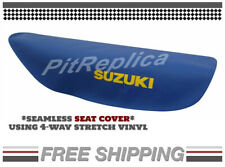 [R] SUZUKI RM125 RM250 1989 1990 '89 '90 SADDLE SEAT COVER [SSCSS]