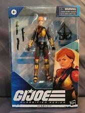 G.I. JOE Classified Series 6in. Scarlett Action Figure Target Exclusive