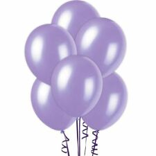 "12"" Metallic Purple Quality Latex balloons birthday Wedding party Decorations"