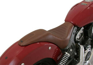 Seat enzo 2-up brun - INDIAN SCOUT ABS - RSD