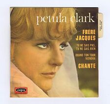 45 RPM EP PETULA CLARK FRERES JACQUES (1968)