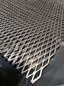 1mm METAL Steel Mesh Sheet Diamond Shape thick Various Sizes