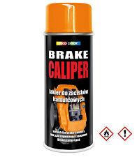 1 Stück 400ml orange Bremssattellack Lack Bremslack Bremsen Sattel Tuning