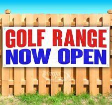 Golf Range Now Open Advertising Vinyl Banner Flag Sign Many Sizes