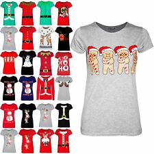 Women Ladies Christmas Xmas Climb Candy Hat You're Worth Melting For T Shirt Top