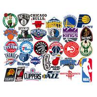 31 NBA Basketball Teams Logo Decals Vinyl Stickers for Skateboard/Luggage/Laptop