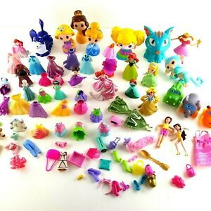 Disney Princess Lot Toy Figure Frozen Silicone Clothing Accessories Mixed Lot