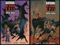 Batman Ultimate Evil Trade Paperback TPB Set 1-2 Lot Andrew Vachss Trafficking