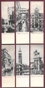 Early 1900s Venizia Venice Italy Postcard Lot (13)