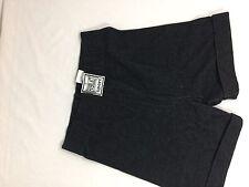 Everlast Sports Kids Black Shorts Size M Made In Taiwan Soild Color Bin68#9