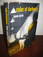 Color of Darkness James Purdy Novel 1st Edition First Printing Fiction
