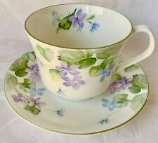 Beautiful Elizabethan Large Floral Harewood Cup & Saucer Set, Great Condition