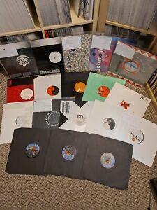 Collection of 19X vinyl records techno breakbeat hardcore classics