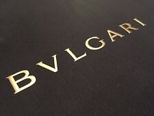 BULGARI BVLGARI Designer Paper Shopping Bag