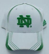 NCAA Notre Dame Fighting Irish Adidas Adult Structured Flex Fit Cap Hat NEW!