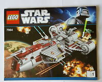Lego 7964 Star Wars Bauanleitung Heft 1und Figur Yoda mit Laserschwert  BA 91